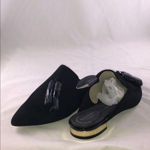 Rockport 7.5 W Adelyn Tassle Mules Shoes SHOES
